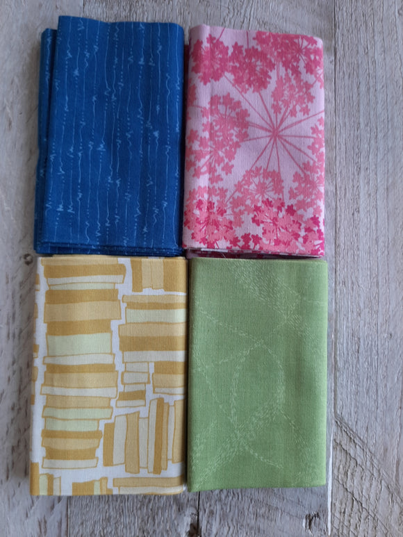 Fat Quarter Fabric Pack - Basics 2