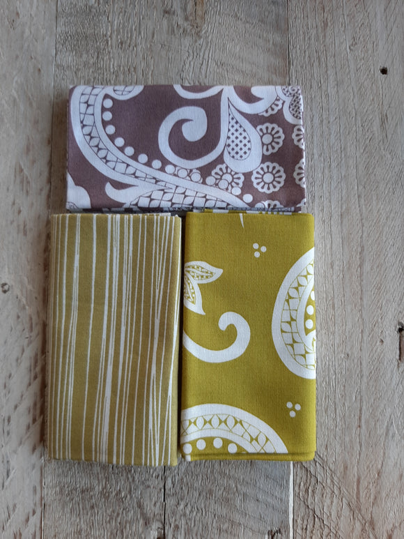 Fat Quarter Fabric Pack - Large Scale