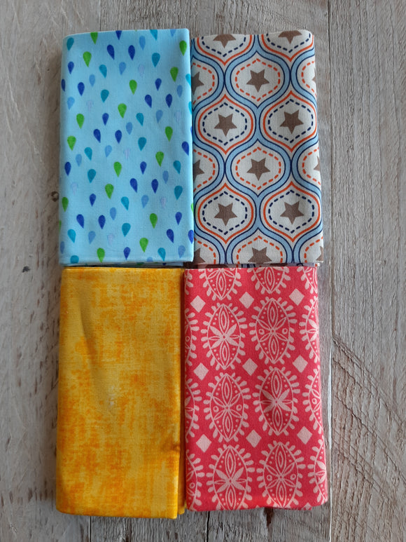 Fat Quarter Fabric Pack - Blenders