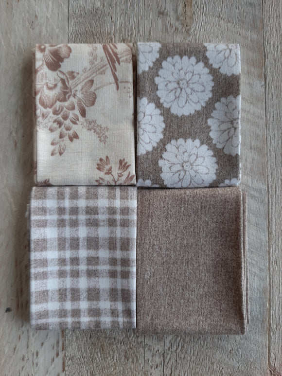 Fat Eighth Fabric Pack - Neutral 1