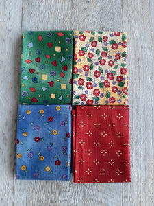Fat Eighth Fabric Pack - Small Print 3