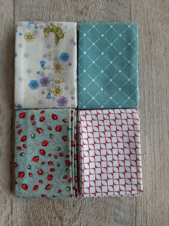 Fat Eighth Fabric Pack - Small Print 4