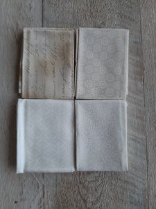 Fat Eighth Fabric Pack - Neutral 2