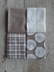 Fat Eighth Fabric Pack - Neutral 3