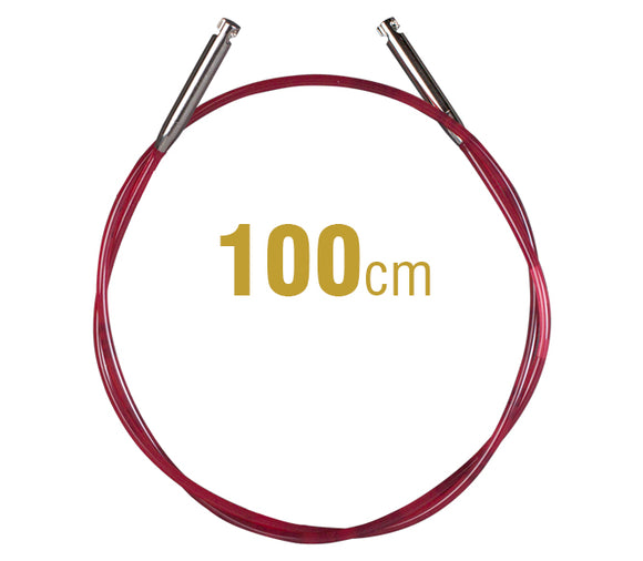 Addi Cable for use with Interchangeable Circular Knitting Needle Tips - See Options