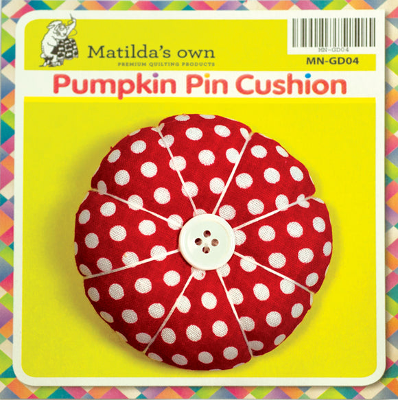 Matilda's Own Pumpkin Pin Cushion - Small