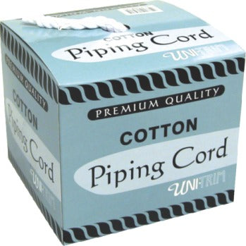 Piping Cord By the Meter Uni-Trim in White - see options