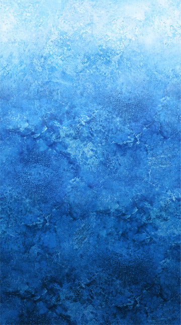 Northcott Fabrics - Stonehenge Gradations Ombre Fabric in Ocean by Linda Ludovico