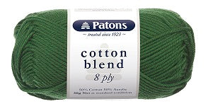 Patons Cotton Blend 8 Ply 50g - See Options