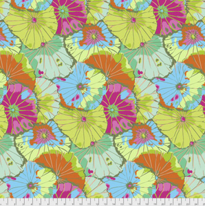 "Free Spirit Fabrics - Kaffe Fassett Collective ""Lotus Leaf in Lime"" by Kaffe Fassett"