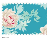 "Tilda ""Sunkiss - Beach Peony Teal"" Quilt Collection Fabric by Tone Finnanger"