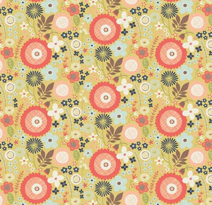 "Riley Blake Fabrics - Woodland Spring ""Floral in Green"" by Design by Dani"