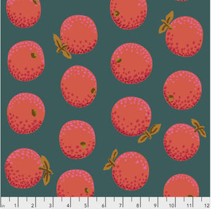 "Free Spirit Fabrics - Kaffe Fassett Collective ""Oranges in Red"" by Kaffe Fassett"