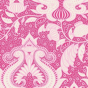 "Tilda ""Sunkiss - Ocean Flower in Pink"" Quilt Collection Fabric by Tone Finnanger"