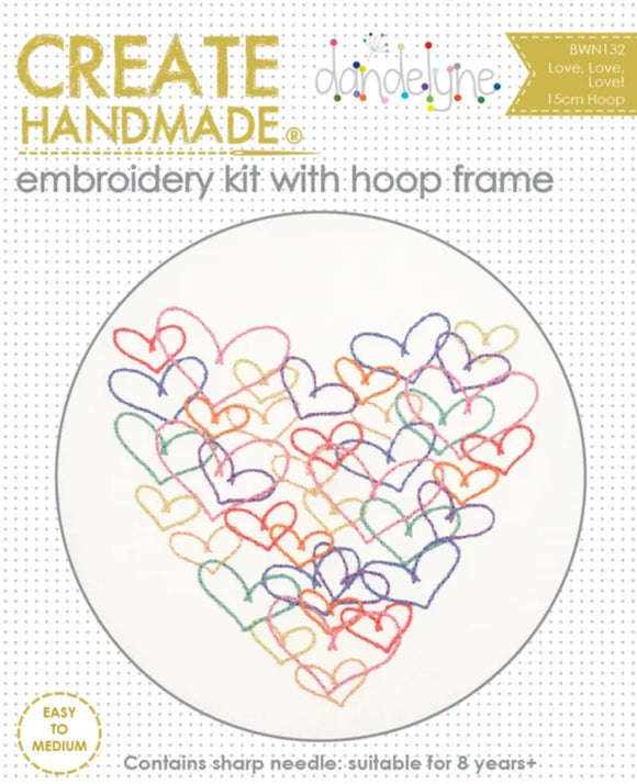 Create Handmade - Creative Hoops Hearts