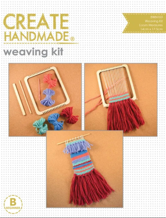 Create Handmade - Weaving Kit