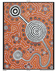 "Devonstone Collection - Ngurambang Collection ""Home/Country"" Fabric Panel by Wayne Martin"