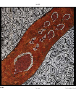"Devonstone Collection - Ngurambang Collection ""Thickibilla/Echidna"" Fabric Panel by Wayne Martin"