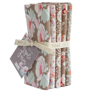 "Fat Quarter Bundle - Tilda ""Maple Farm"" Quilt Collection Fabric by Tone Finnanger"