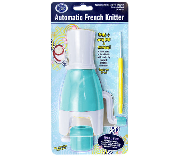Classic Knit Automatic Spool French Knitter