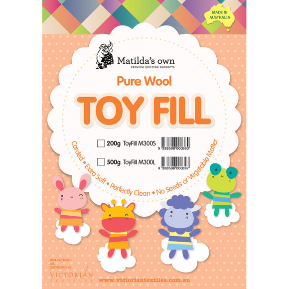 Matilda's Own Toy Fill - 100% Wool 500 grams