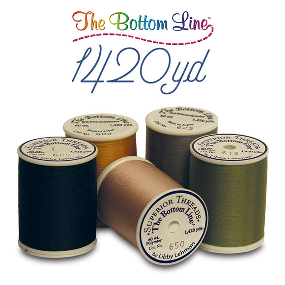 Superior Threads - The Bottom Line by Libby Lehman