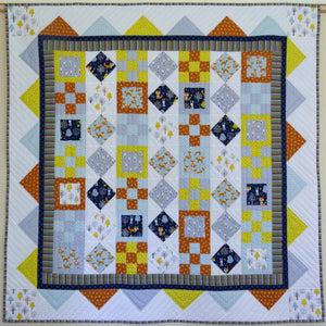"The Gourmet Quilter ""Woodland Patch"" Quilt Pattern designed by Susan Claire"