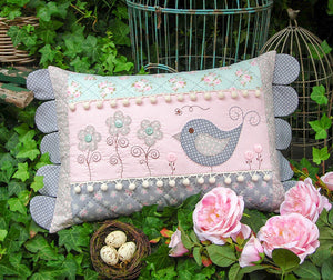 "The Rivendale Collection ""Daisy Doo"" Cushion Pattern by Sally Giblin"