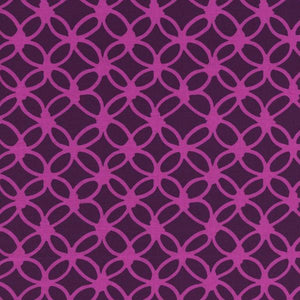 "Cotton+Steel Collection ""Macrame - Knotty in Grape"" Fabric Designed by Rashida Coleman-Hale"