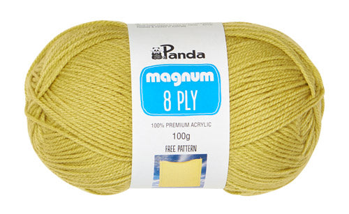 Panda Magnum 8 Ply Acrylic Yarn 100g - See Options