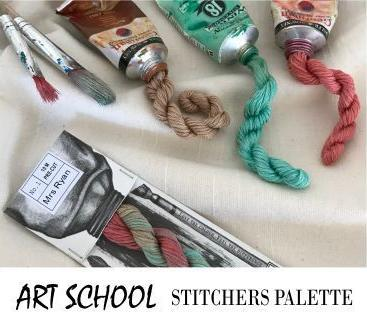Cottage Garden Threads for Hand Stitching and Embroidery 100% Cotton - Art School Stitcher's Palette Range - See Options