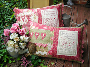 "The Rivendale Collection ""Share The Sunshine"" Cushion Pattern by Sally Giblin"