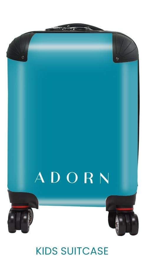 Adorn Blue Pastel Luggage AA0026