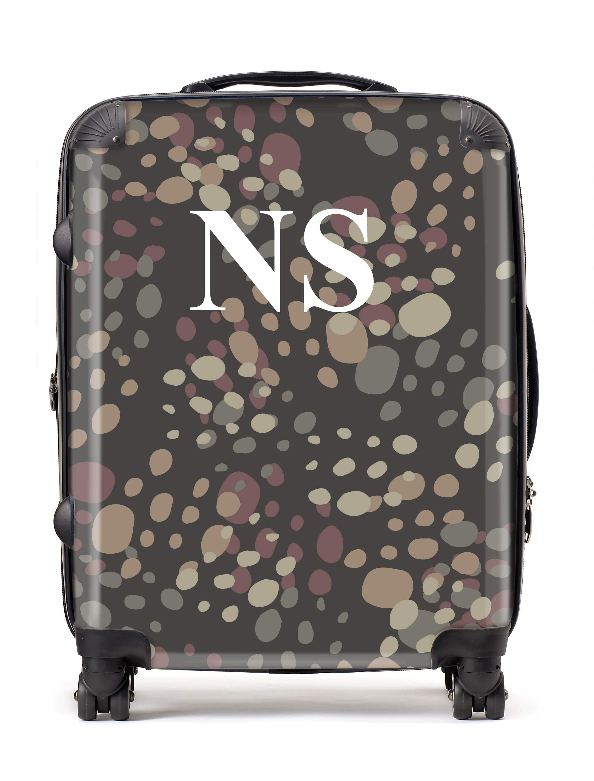 Adorn Camouflage Luggage AA009