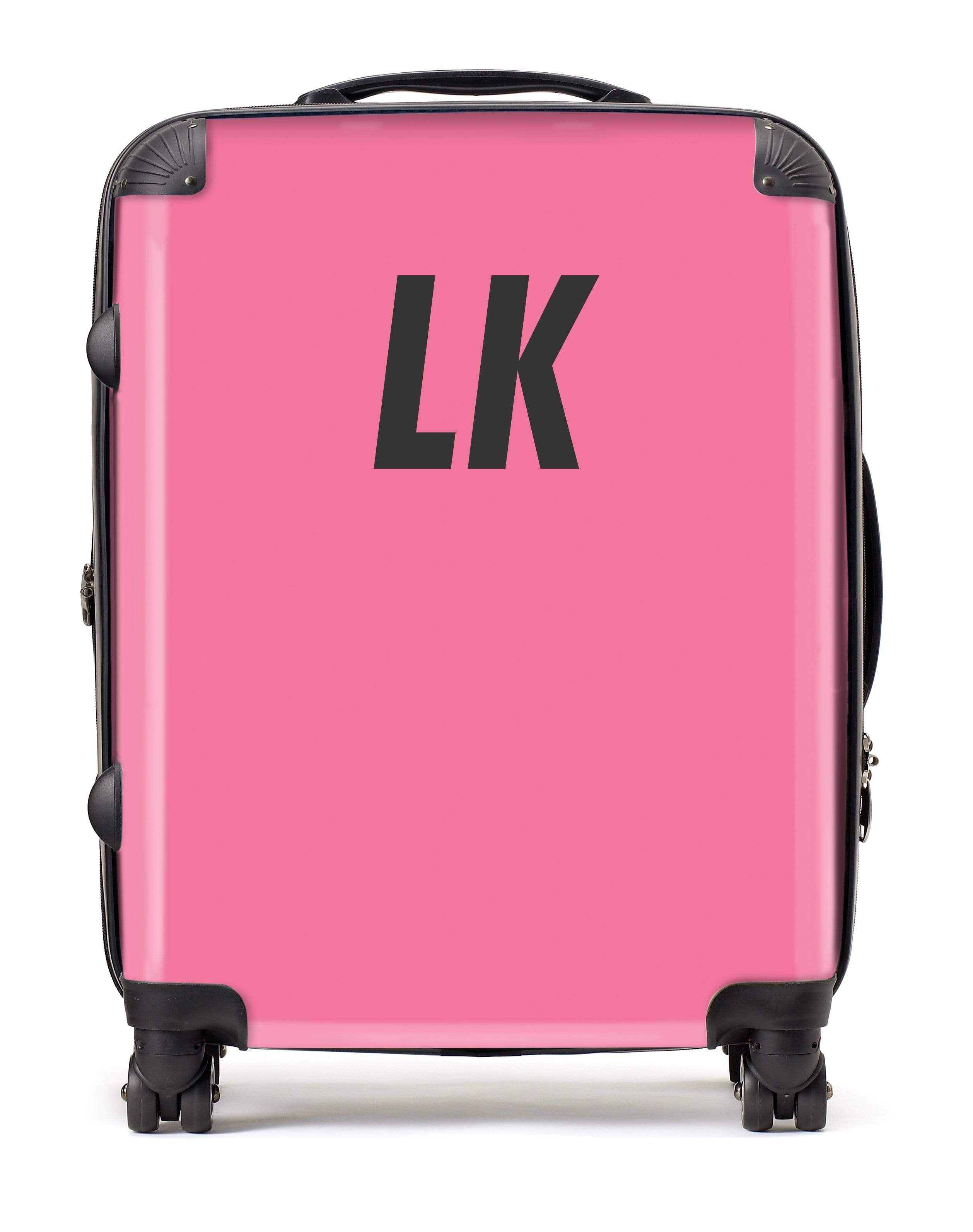 Adorn Pink Matt Luggage AA0035