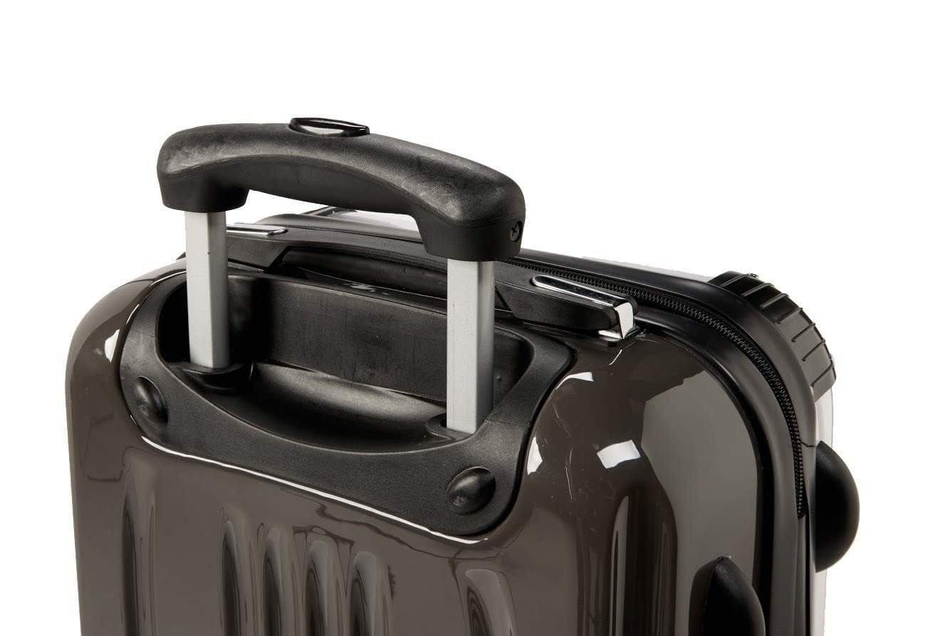 Adorn White Blue Marble Luggage AA0059