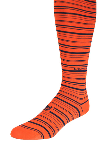 Game Day Performance ThinSkin Orange with Navy Blue Stripes