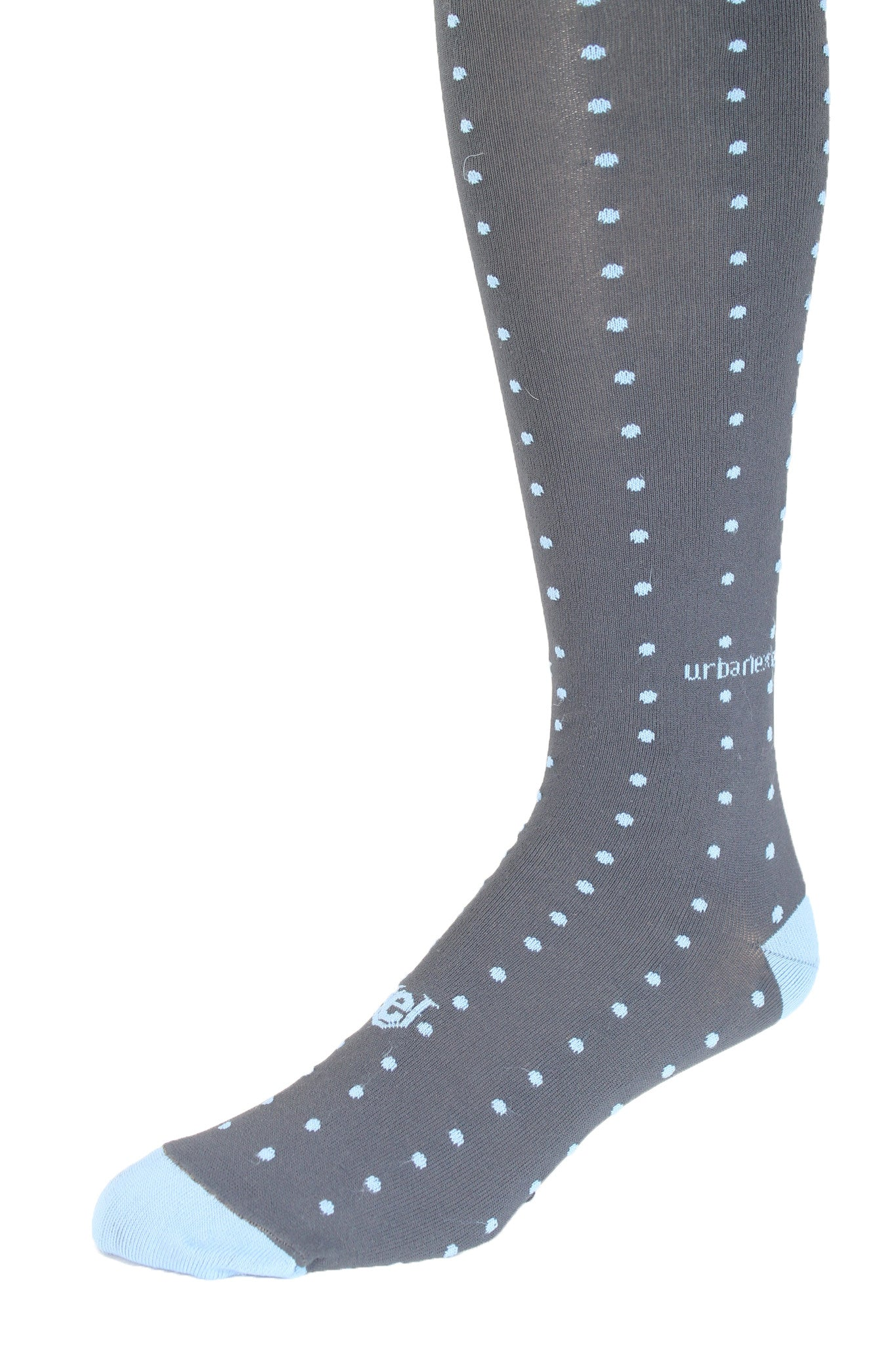 Performance ThinSkin Charcoal with Light Blue Pin Dots
