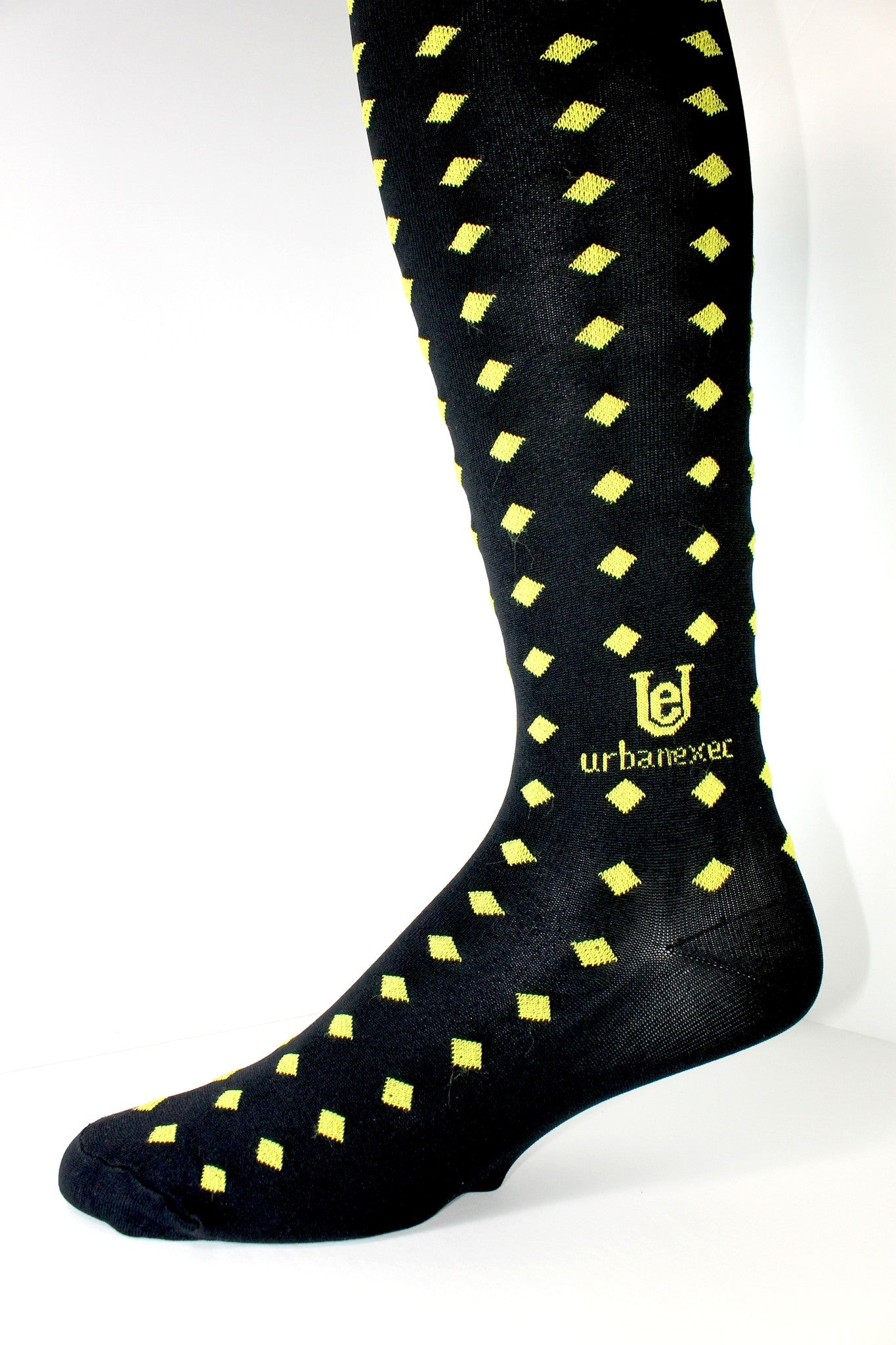 Mens Socks Luxury GameDay Team Black/Gold