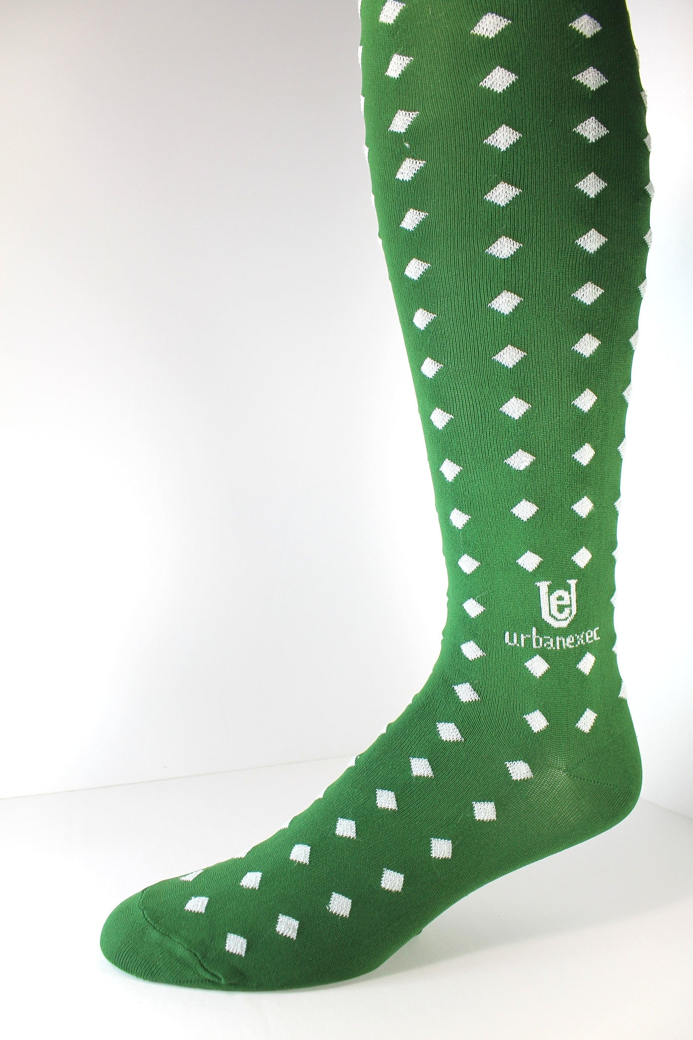 Men's Socks Luxury GameDay Green/White OTC