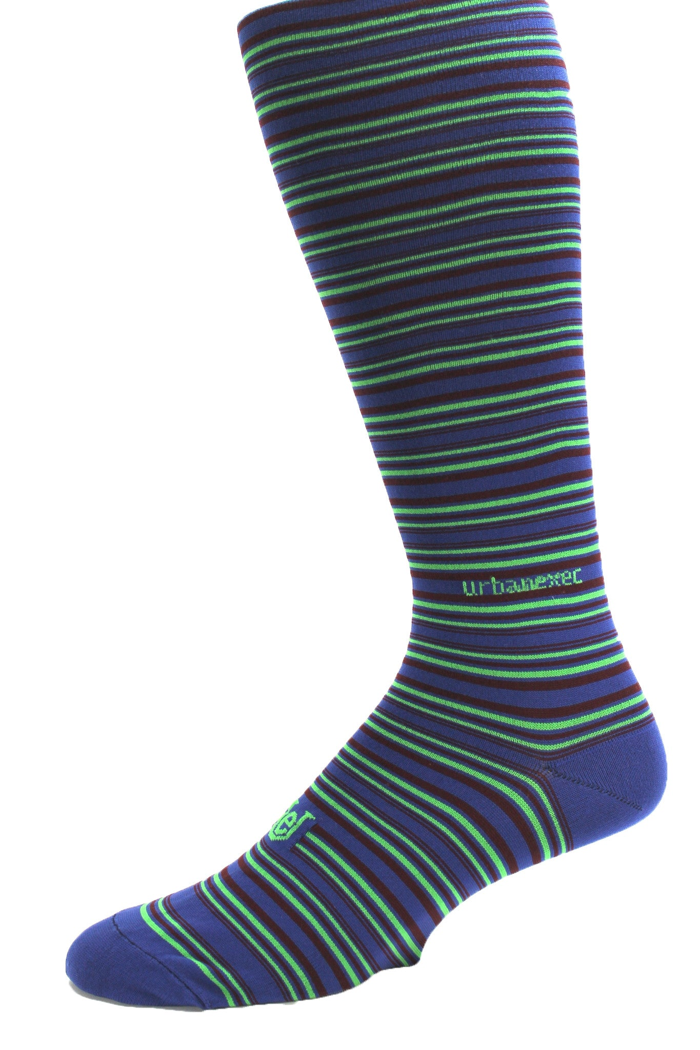 Performance ThinSkin Stripes Ink Blue/Bright SeaGreen/Wine