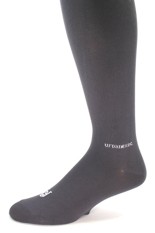 Solid Charcoal Men's Performance ThinSkin Socks OTC