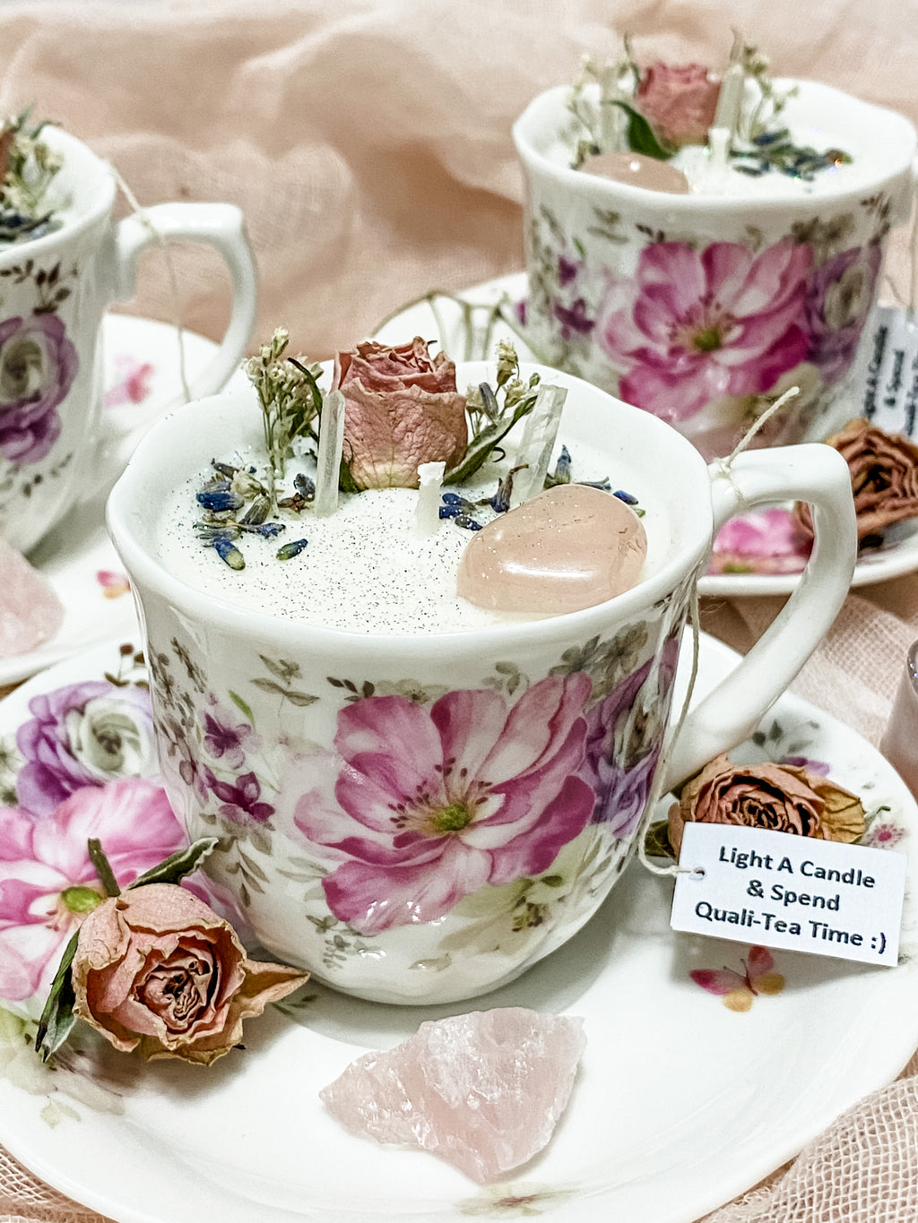 Tiny Tea Cup Candle