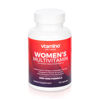 Vtamino Women's Multivitamin-Advanced Daily Multivitamin (30 Days Supply)