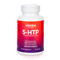 Vtamino 5HTP (5-hydroxytryptophan 200mg)-Supports Brain's Production of Serotonin (30 days Supply)