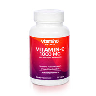 Vtamino Vitamin C 1000mg-with Rose Hips For Maximum Protection (50 Days Supply)