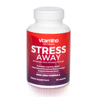 Vtamino Stress Away-Enhanced Anti Anxiety & Stress Formula (30 Days Supply)