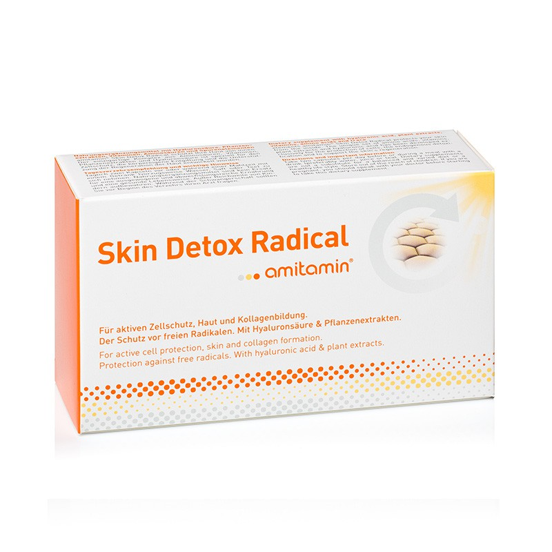 amitamin® Skin Detox Radical-Ultimate Skin Care Natural Formula (30 Days Supply)