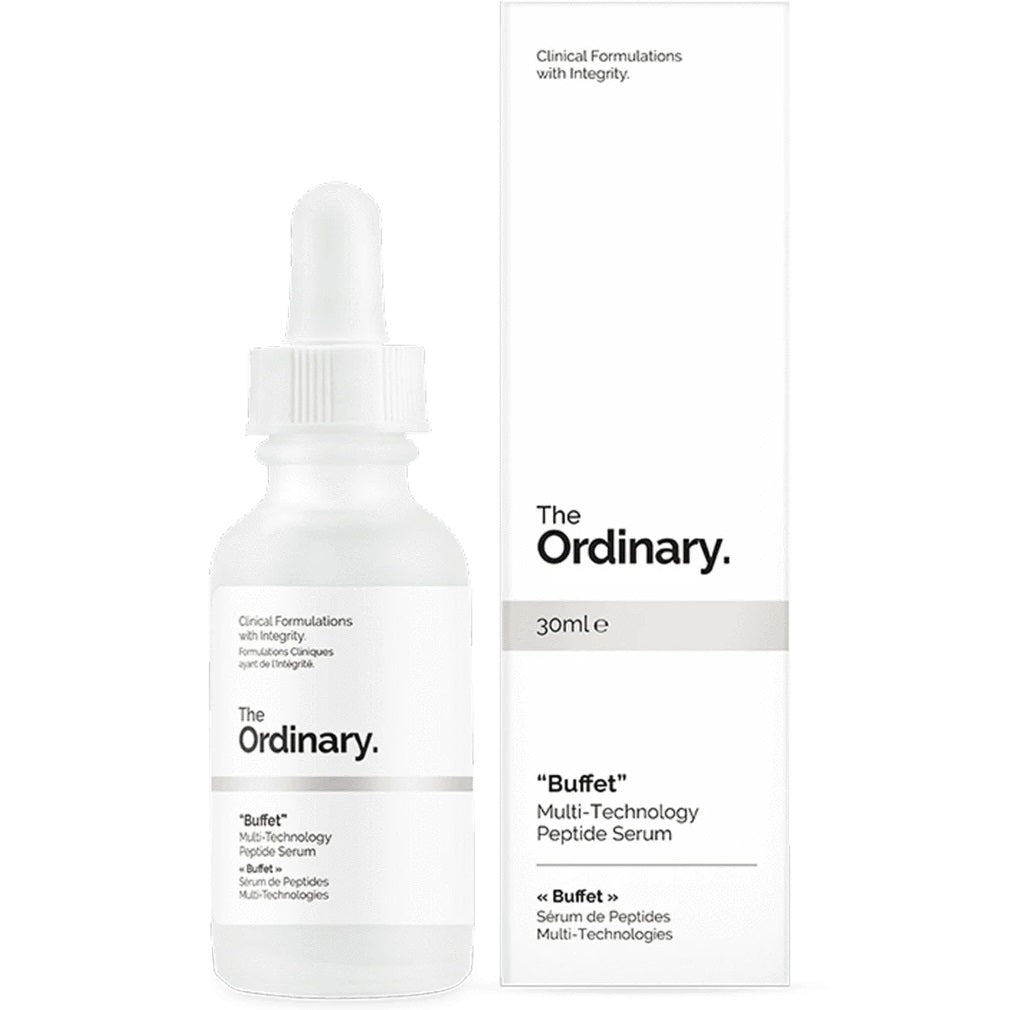 "THE ORDINARY ""BUFFET""- FIGHTS MULTIPLE SIGNS OF AGING-30ml-Original The Ordinary Directly From Canada"