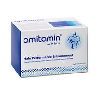 amitamin® M forte-Award Winning Formula To Enhance Male Performance-Made in Germany (30 Days Supply)
